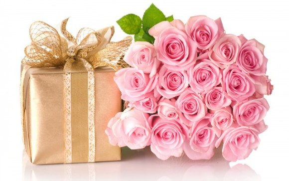 the more precious or important the gift the nicer the wrapping - Valentines Day Wrapping Paper